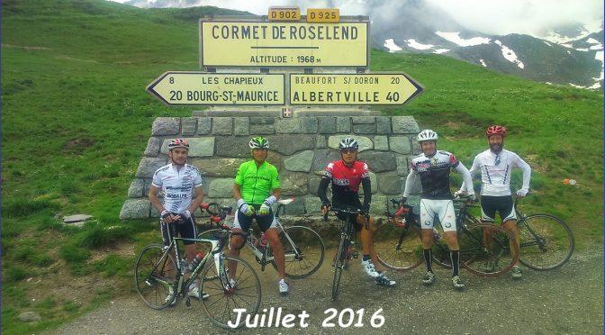 Jeudi 13 juillet 2017 : le Cormet de Roselend
