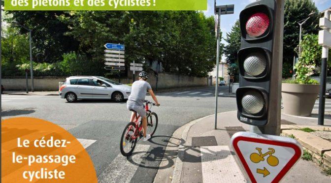 Cycliste : le code de la route évolue…